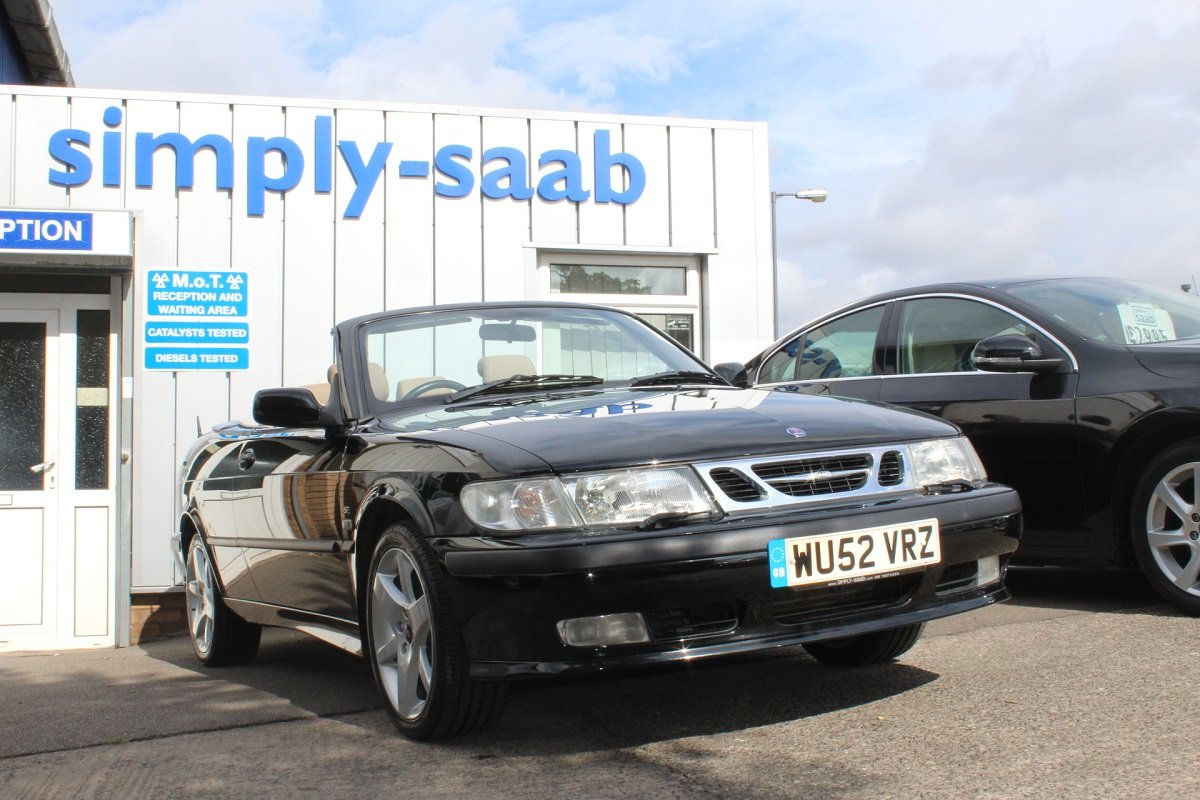 2002 LOVELY 9-3 SE TURBO CONVERTIBLE  SOLD (picture 1 of 6)