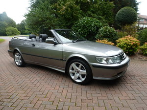 2001 Exceptional low mileage Saab Convertible! SOLD