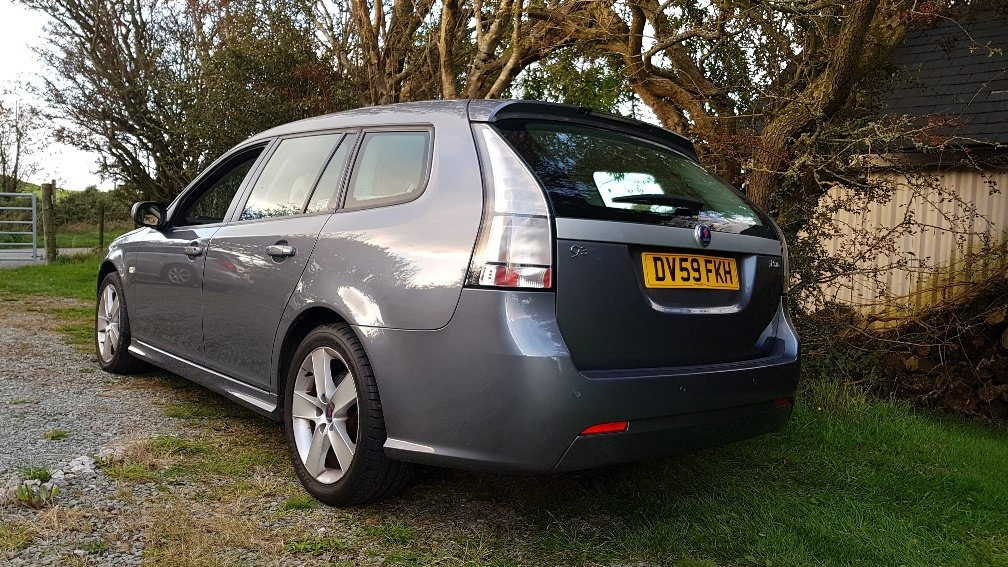 2009 09 59 Saab 9-3 1.9 TiD 150 Estate FSH Leather Lady own 2012 SOLD (picture 4 of 6)