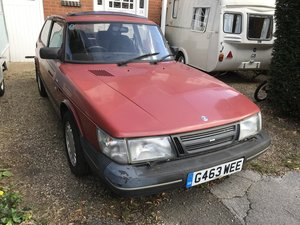 1990 Saab 900 S 16v Auto only 84000 miles from new