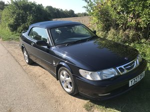 2001 Saab 93 Cabriolet Super fun for late summer !!