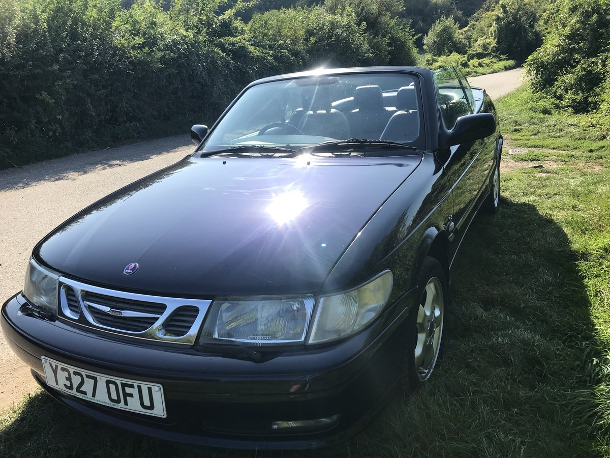 2001 Saab 93 Cabriolet Super fun for late summer !! For Sale (picture 2 of 6)