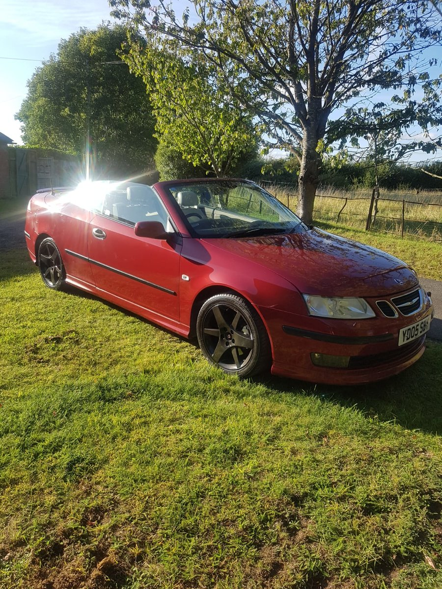 2005 Saab 9-3 Aero Turbo Convertible-No Reserve For Sale by Auction (picture 1 of 6)