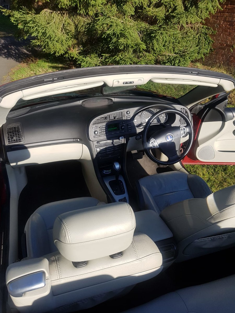 2005 Saab 9-3 Aero Turbo Convertible-No Reserve For Sale by Auction (picture 4 of 6)
