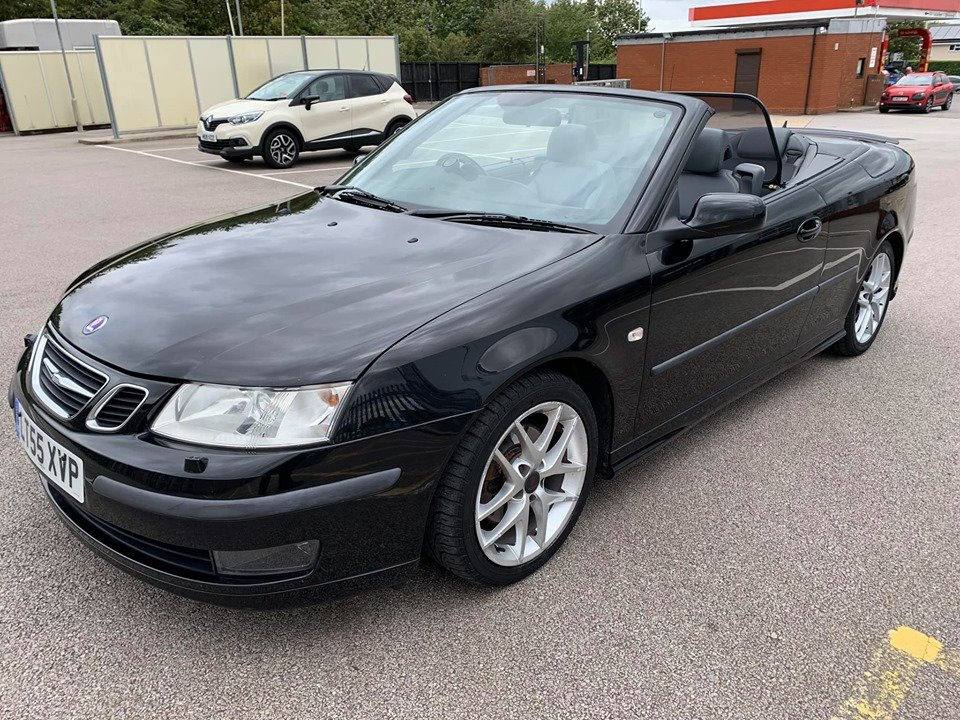 2005 Saab 93 2.0T Aero Convertible 67k For Sale (picture 1 of 6)