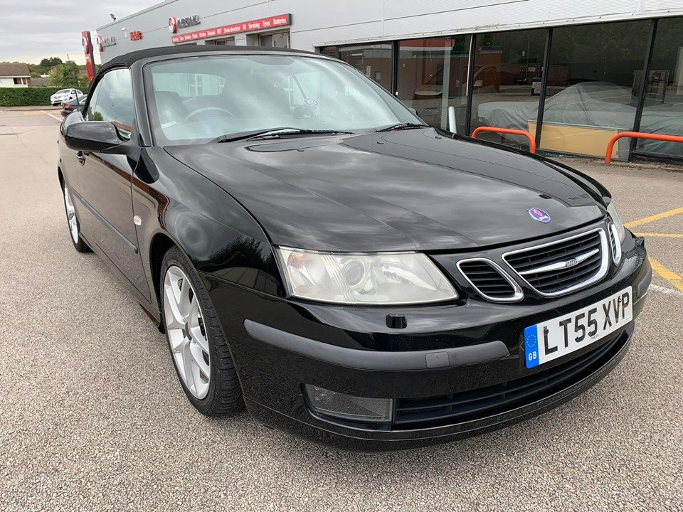 2005 Saab 93 2.0T Aero Convertible 67k For Sale (picture 2 of 6)