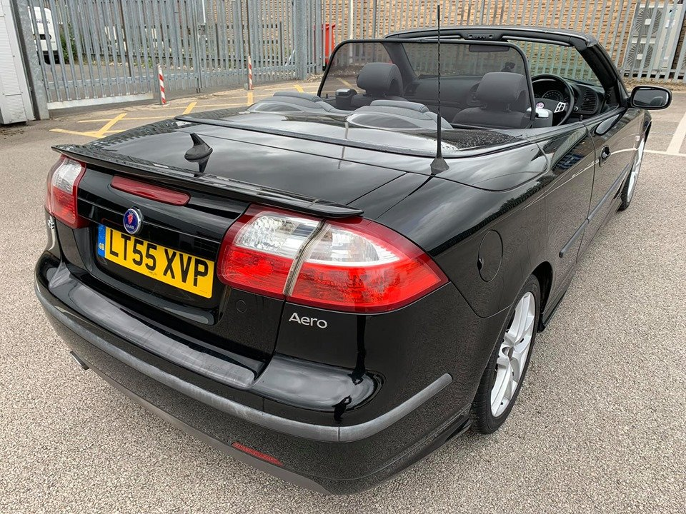 2005 Saab 93 2.0T Aero Convertible 67k For Sale (picture 3 of 6)