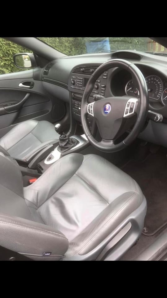 2005 Saab 93 2.0T Aero Convertible 67k For Sale (picture 4 of 6)