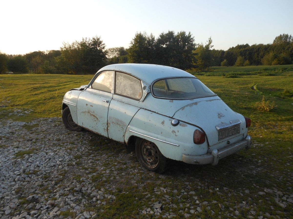 1964 SAAB 96 TWO STROKE BARN FIND SOLD (picture 1 of 6)
