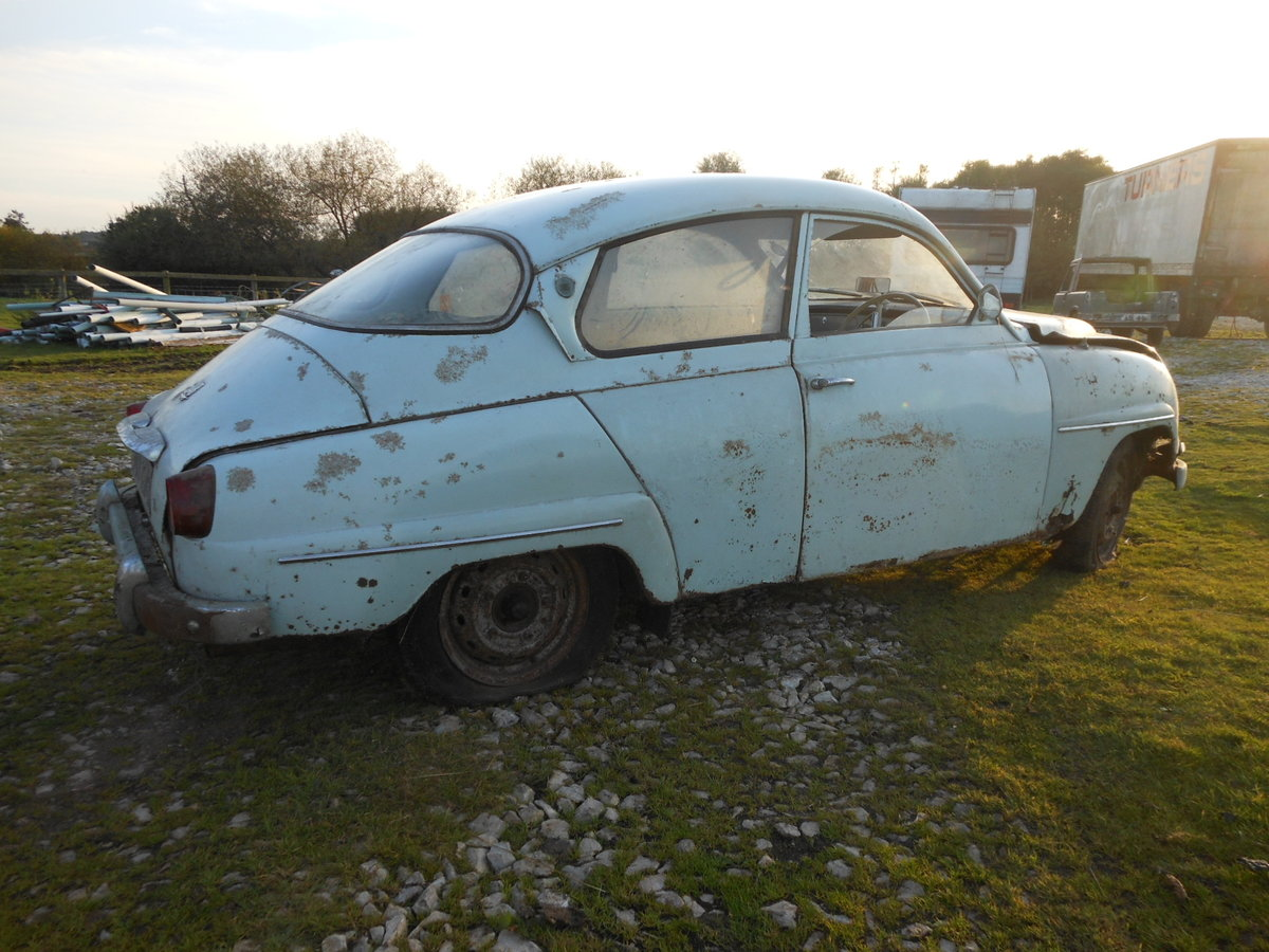 1964 SAAB 96 TWO STROKE BARN FIND SOLD (picture 2 of 6)