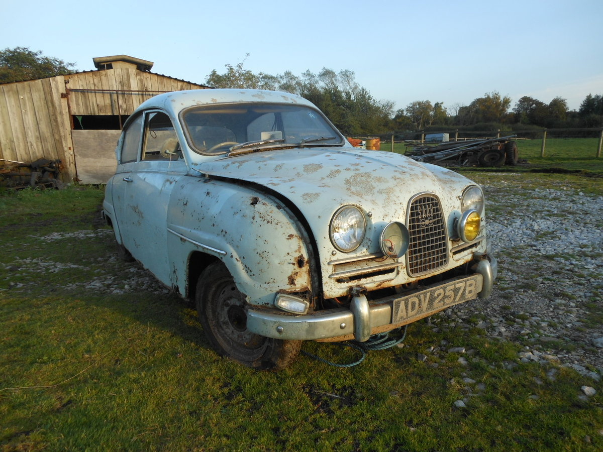 1964 SAAB 96 TWO STROKE BARN FIND SOLD (picture 3 of 6)