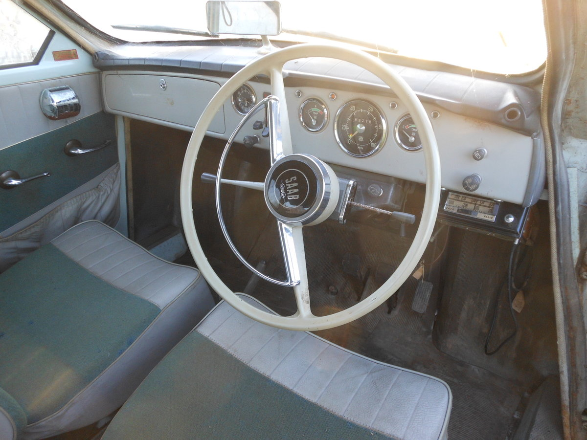 1964 SAAB 96 TWO STROKE BARN FIND SOLD (picture 4 of 6)