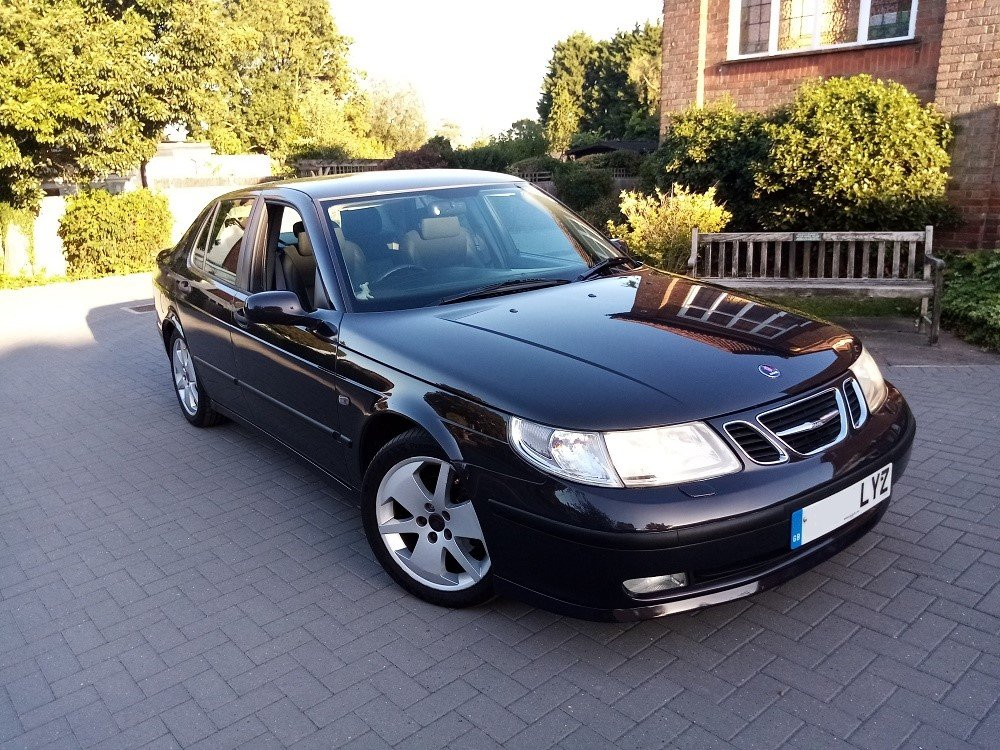 2004 Saab 9-5 Vector 2.0 Turbo Auto, FSH, Immaculate! For Sale (picture 1 of 6)