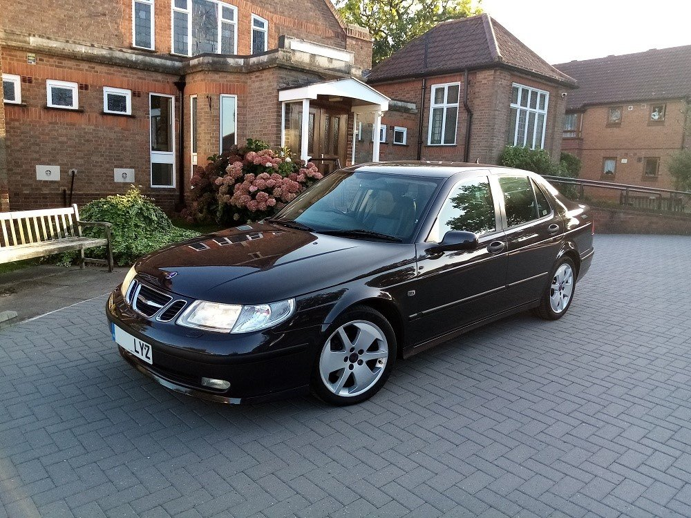 2004 Saab 9-5 Vector 2.0 Turbo Auto, FSH, Immaculate! For Sale (picture 2 of 6)