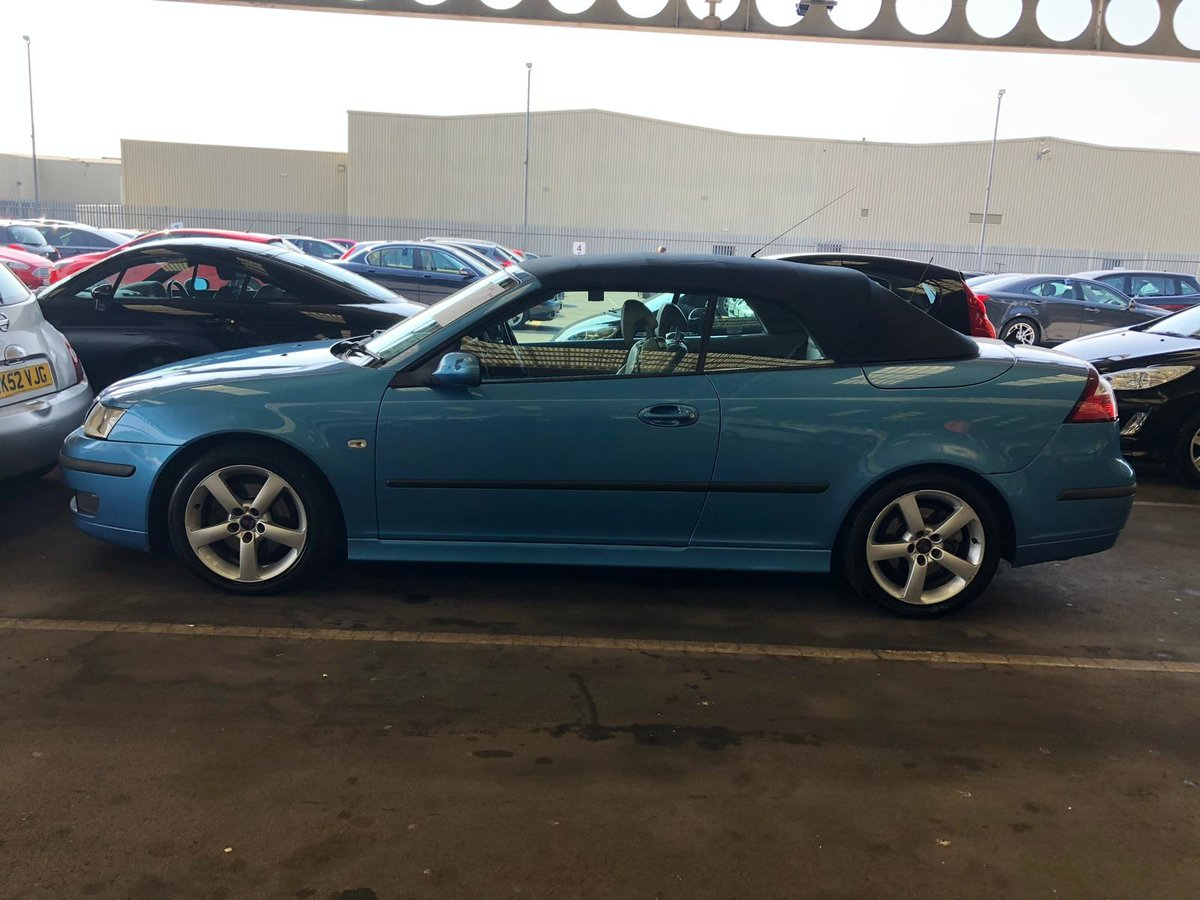 2006 Saab 93 manual full mot tax leather alloys For Sale (picture 4 of 6)