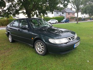 1998 Saab 93 auto 1 lady owner from new been garag For Sale