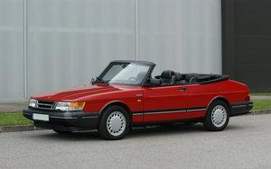 1990 SAAB 900 Turbo cabriolet