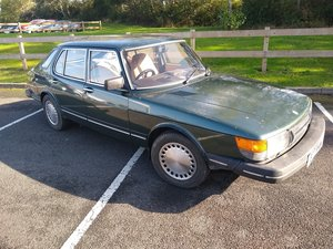 1985 Saab 900I - Same family owned from new. SOLD by Auction