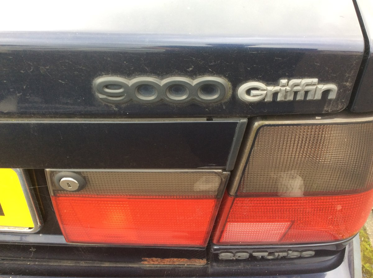 1996 SAAB 9000 Griffin 2.5 Turbo For Sale (picture 4 of 6)