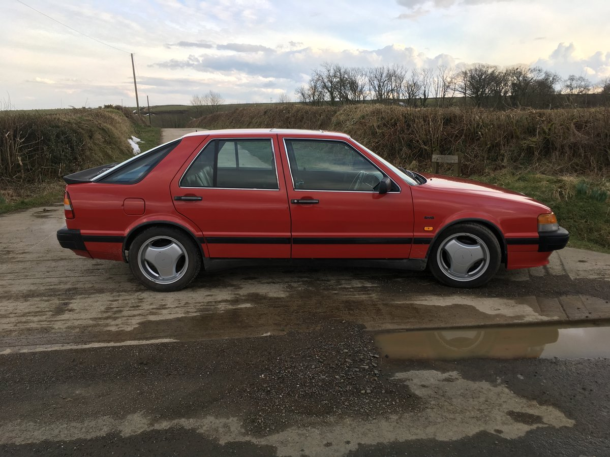 1991 Saab 9000 S 2.3 Turbo Slope Front For Sale (picture 1 of 1)