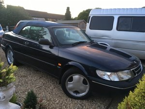 1996 Saab 900 se 2.3 manual convertible For Sale