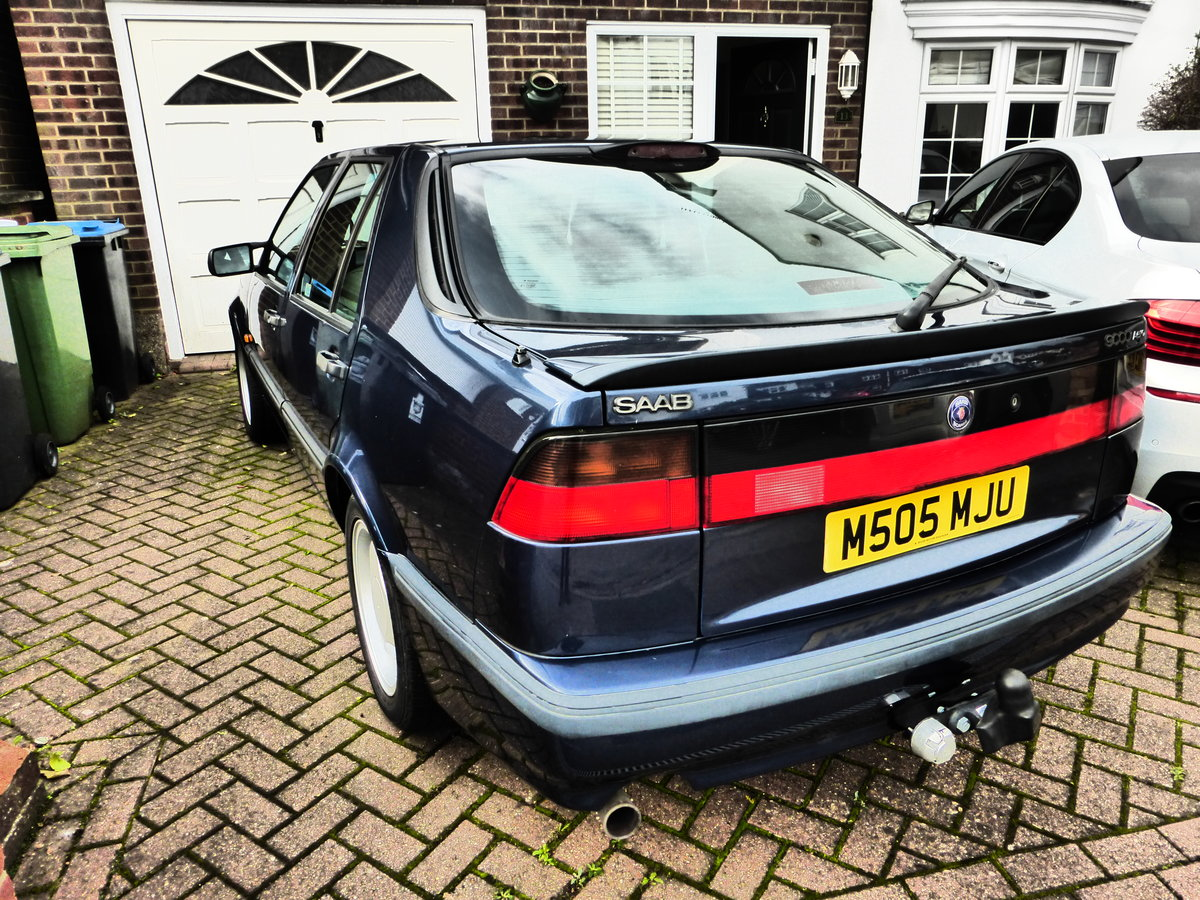 1995 For Sale: Saab 9000 2.3 Aero - Manual  -   £1495 SOLD (picture 4 of 6)