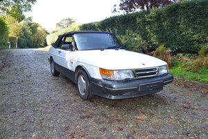 1990 Saab 900 Turbo 16S Convertible RHD For Sale