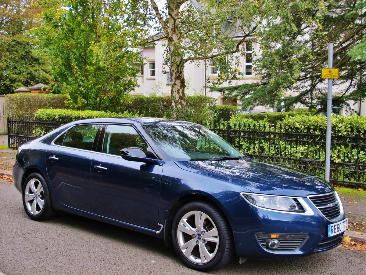 2010 SAAB 95 9-5 'NEW SHAPE' 2.0 Tid AUTOMATIC 1 OWNER 28950m FSH For Sale (picture 1 of 6)