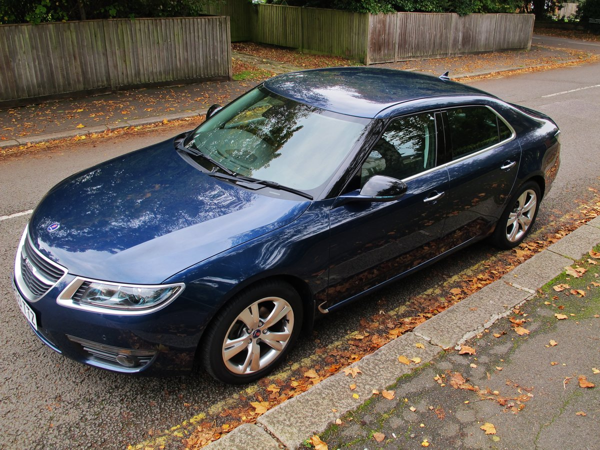 2010 SAAB 95 9-5 'NEW SHAPE' 2.0 Tid AUTOMATIC 1 OWNER 28950m FSH For Sale (picture 2 of 6)