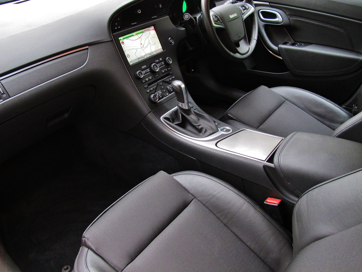 2010 SAAB 95 9-5 'NEW SHAPE' 2.0 Tid AUTOMATIC 1 OWNER 28950m FSH For Sale (picture 3 of 6)