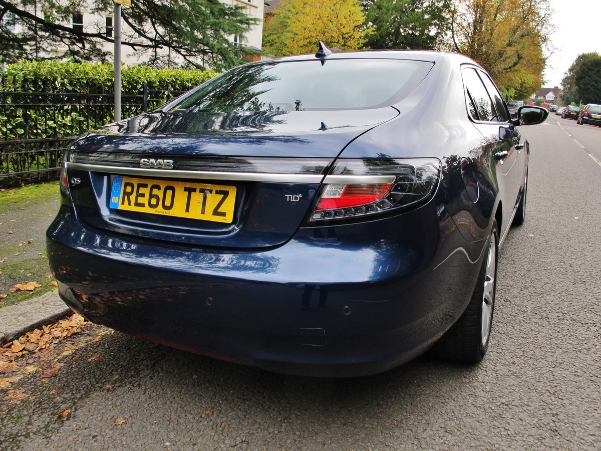 2010 SAAB 95 9-5 'NEW SHAPE' 2.0 Tid AUTOMATIC 1 OWNER 28950m FSH For Sale (picture 6 of 6)