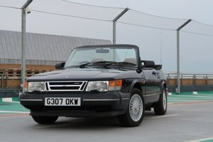 1989 Saab 900 T16 Convertible For Sale by Auction