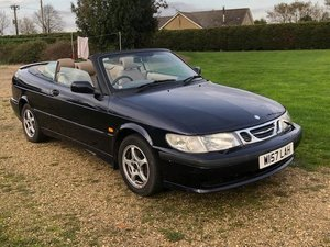 2000 Saab 9-3 se turbo convertible px bargain to clear SOLD