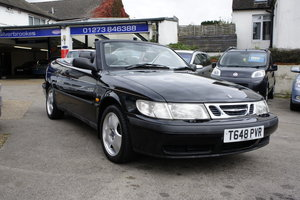1999  SAAB 2.0t 154 Eco SE Convertible.