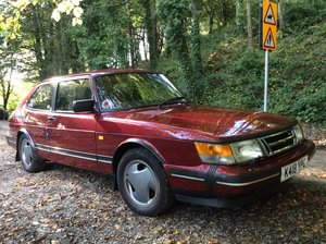 1993 Ruby Saab 900 T16  Very rare For Sale