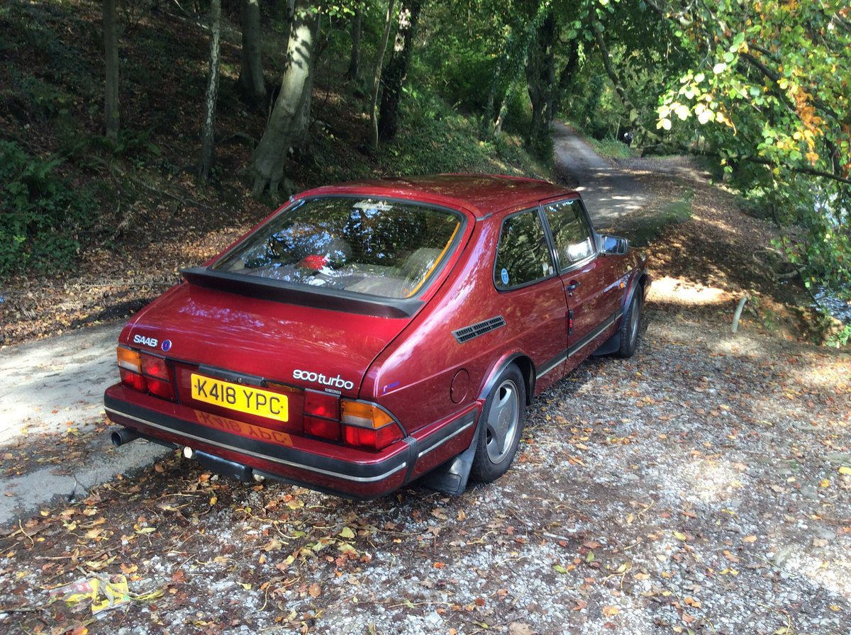 1993 Ruby Saab 900 T16  Very rare SOLD (picture 2 of 6)