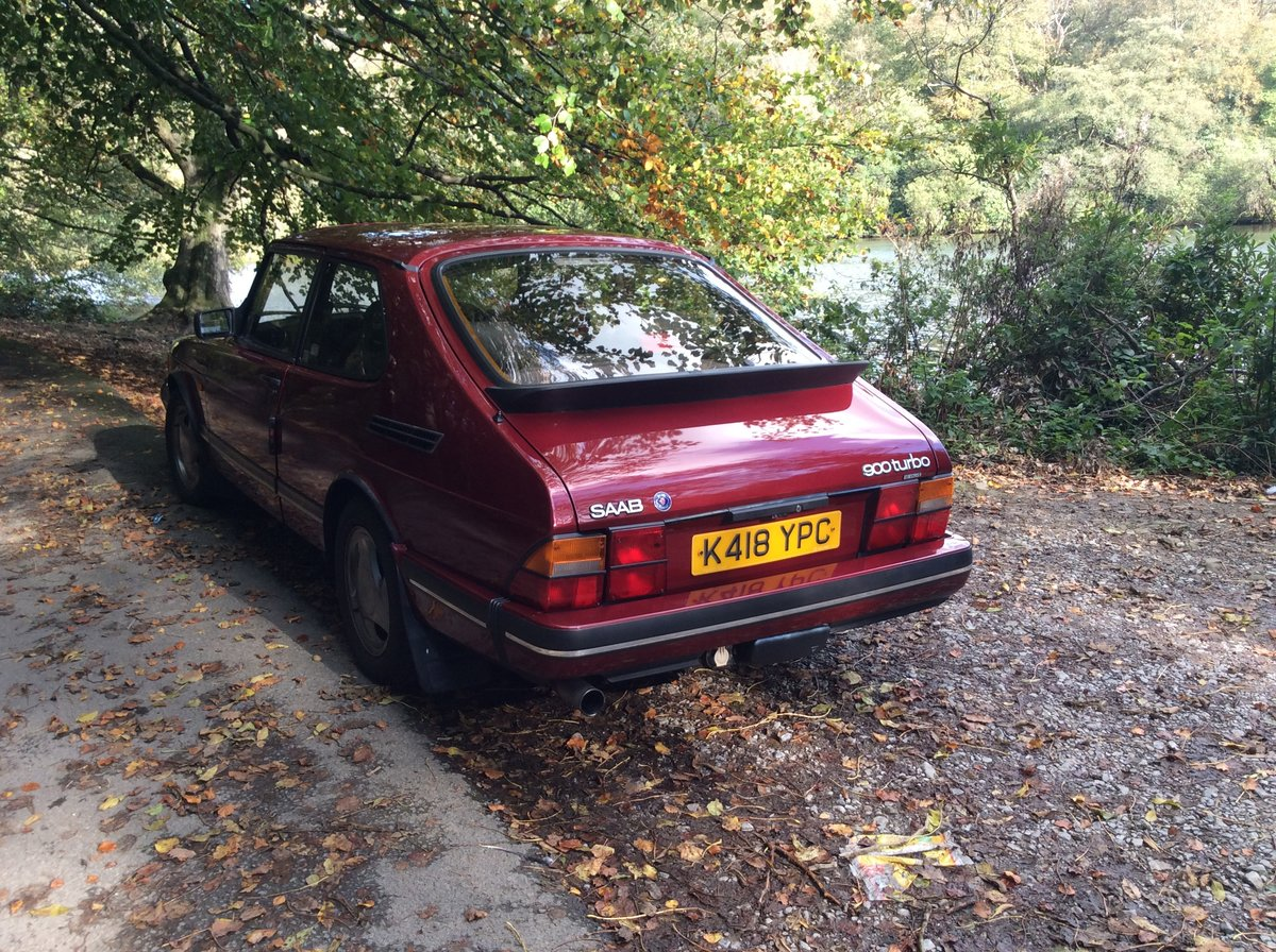 1993 Ruby Saab 900 T16  Very rare SOLD (picture 6 of 6)