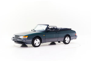 1993 SAAB 900 S LPT TURBO CONVERTIBLE for sale by auction For Sale by Auction