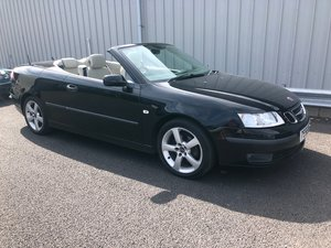 2005 55 SAAB 9-3 2.0T PETROL VECTOR 150 BHP AUTO CABRIOLET For Sale
