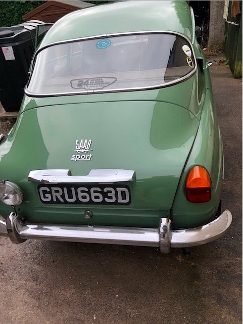 1966 Saab 96 two stroke For Sale (picture 1 of 6)