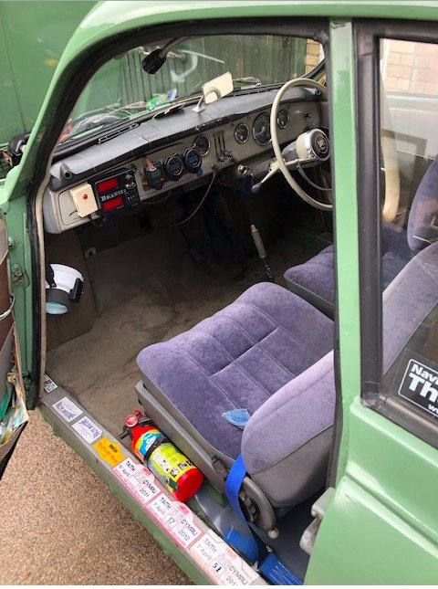 1966 Saab 96 two stroke For Sale (picture 4 of 6)