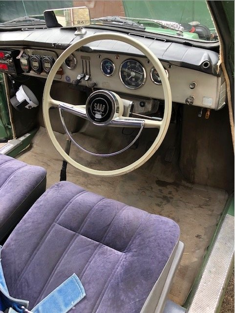 1966 Saab 96 two stroke For Sale (picture 5 of 6)