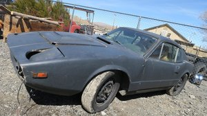 1972 Saab SONETT Sonett 3 = Project Manual Black $1.8k