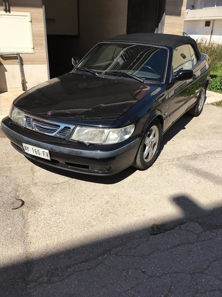 1998 Saab 9-3 turbo cabrio For Sale (picture 2 of 6)