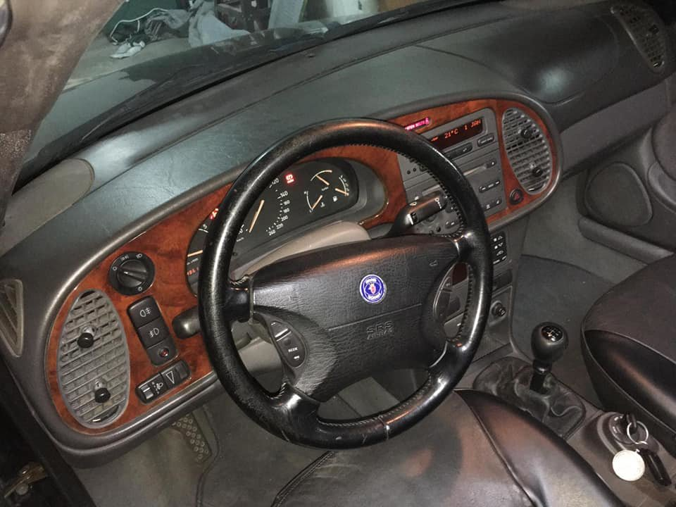 1998 Saab 9-3 turbo cabrio For Sale (picture 5 of 6)