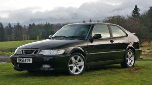 2001 Saab 9-3 aero hot high output turbo black/bla For Sale