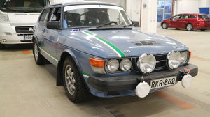 1986 Saab 99 FIA Rally car SOLD
