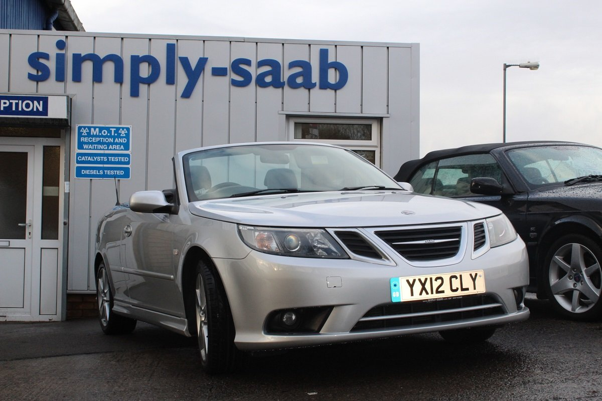 2012 ONE OF THE LAST CONVERTIBLES MADE! 9-3 LINEAR SE TURBO SOLD (picture 1 of 6)