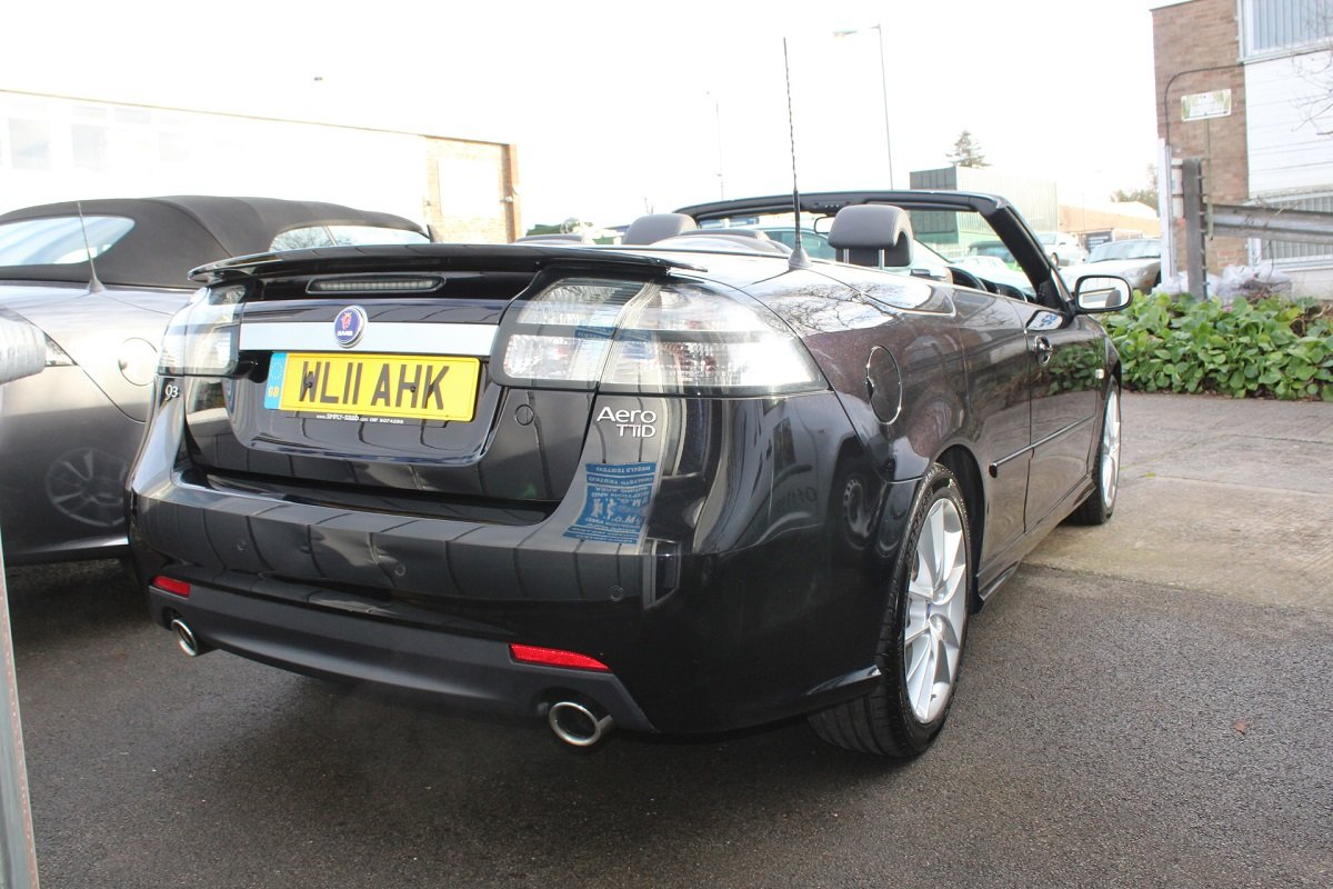 2011 FABULOUS 9-3 CONVERTIBLE AERO TTID For Sale (picture 4 of 6)