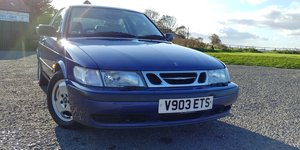 1999 Saab 9-3: rare coupe with B204 engine